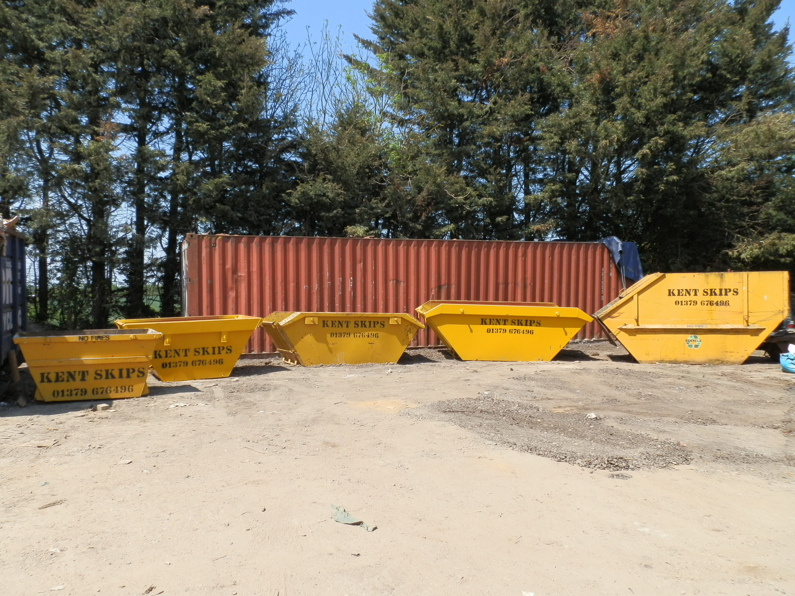 Kent Skip Hire sizes